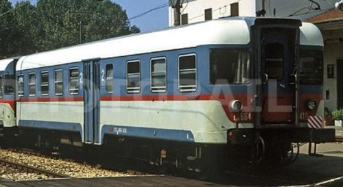Ln664.14xx a Lugo nel 92. Foto © Stefano Paolini da trenomania