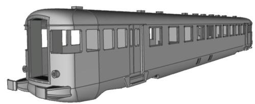 Disegno 3D delle Ln 779 di prossima produzione, di Gianfranco Visentin