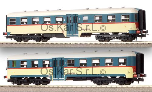 Modelli OsKar con le due varianti della livrea unificata