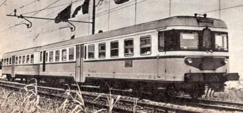 """prototipo ALn 668 serie 1400 ferr Roma-Viterbo 1960 - tratto da """"le foto di Corrado"""" - http://www.forum.ferrovie.it/"""