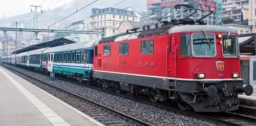 Thello in Svizzera, a Montreux. Foto © www.cgn02.ch
