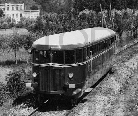 FIAT Mod.005 per la Santhià-Biella nel 1933, Foto Centro Documentazione Storica FIAT