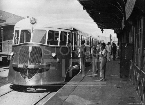 1937: la littorina brasiliana. Foto Centro Documentazione Storica FIAT
