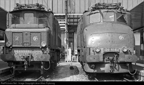 D2D 5509 e 5545 Foto da www.railpictures.net - © Jean Marc Frybourg