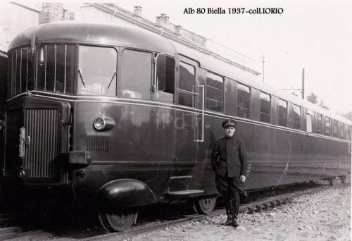 ALb80 a Biella nel 1937 - Foto Iorio da ipdt