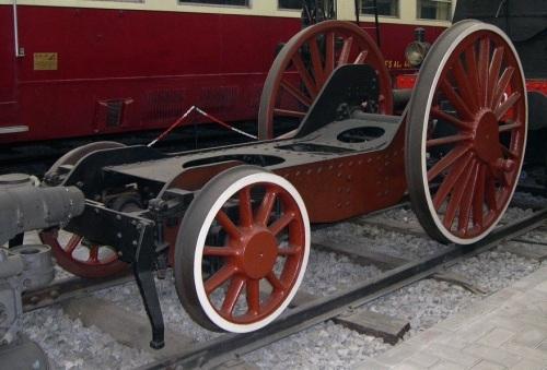 """Il """"carrello italiano"""" in mostra la Museo della Scienza e della Tecnica di Milano."""