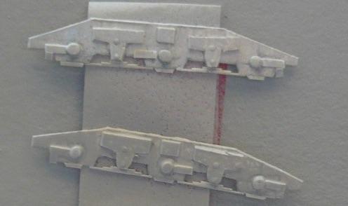 FIancate dei carreli per la D.461