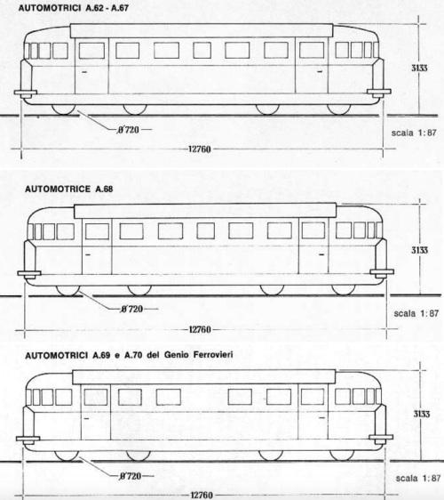 Schemo della A61-A70, immagine da trainweb,com