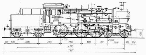 Disegno delle Br 78-10, da http://www.modellbahnfrokler.de/