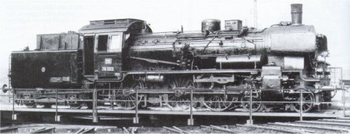 Br 78.1002 ad Augsburg nel 1959 - foto da http://www.modellbahnfrokler.de/