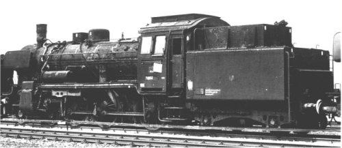 Br 78.1002 accantonata a Feldkirchen nel 1963 - foto da http://www.modellbahnfrokler.de/