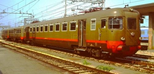 ALe.540 più due Le.640 a Ferrara nel 1991. Foto © Massimo Bertini da ipdt