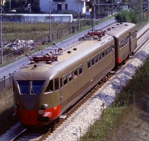 ALe.790 + Le.640 a Rimini nel 1990. Foto © Franco Pepe da littorina.net