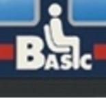 """Logo """"Basic"""" posto al centro delle vetture notte non letto o cuccetta."""