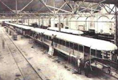 La fabbrica delle ALn nel 1941