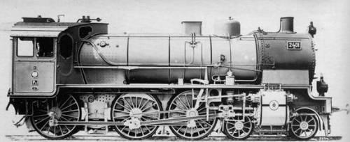 Il prototipo Coeln 2401 con cabina a cuneo. Foto Collezione Scheingraber tratto da marklinfan.com - originariamente da Mondo Ferroviario 100