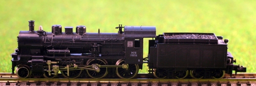 Fleischmann 7161, versione internazionale della P8 - qui con decals olandesi.