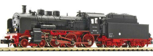 Fleischmann Piccolo 781009 - DR Br 38 3545 (DDR) con parafumo ampi e con tender maggiorato 2'2'T31,5