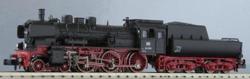 Fleischmann Piccolo 939981 - Br 38 con cabina chiusa per treni reversibili - Foto da http://www.osterthun.com