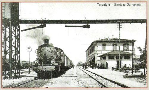 La 675.007 a Terontola, da un vecchia cartolina (tratto da marklinfan)