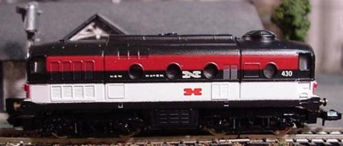 Dove poteva arrivare la sfacciataggine Lima: D.341 nei colori New Haven... http://www.spookshow.net/