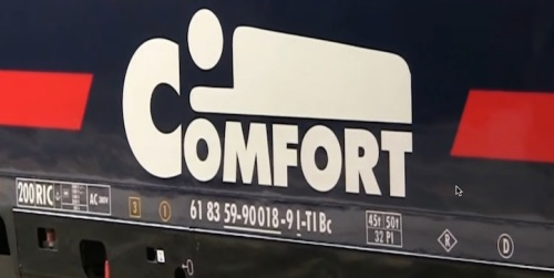 Il Logo Comfort delle cuccette