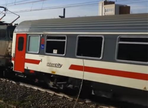 Il logo Intercity senza altri qualificatori sulla semipilota