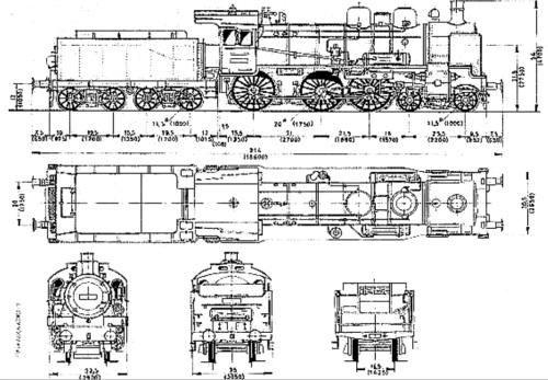 Schema della P8, da trainzitaliafoto