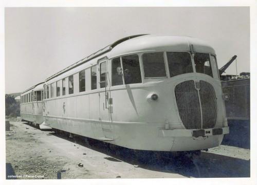 1938: la littorina subito prima dell l'applicazione del cacciapietre. Foto © Collezione Jean-Pierre Crozet