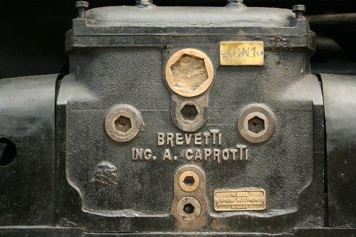 Scatola di distribuzione Caprotti, conservata al Museo della Scienza e della Tecnica di Milano. (Foto del Museo)