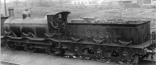 Midland Railway class 1 0-6-0 No 2627 foto da warwickshirerailways.com